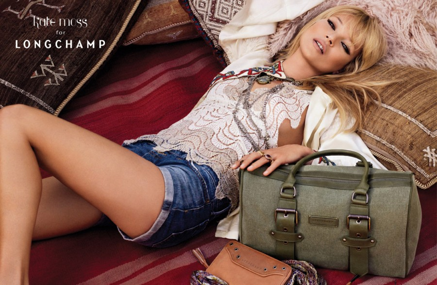 Kate Moss for Longchamp - Image #1